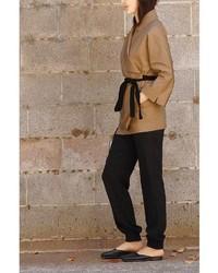 Shihoshi Cecile Camel Coat For Mom