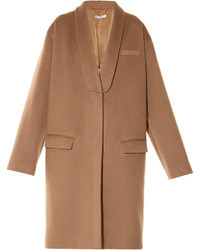 Givenchy Single Breasted Cashmere And Wool Blend Coat