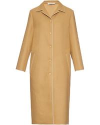 Nina Ricci Single Breasted Wool Blend Coat