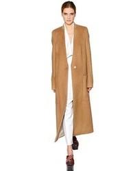 Sonia Rykiel Brushed Camel Wool Coat