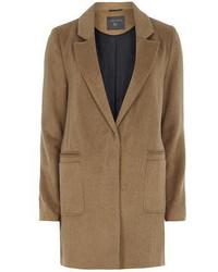 Dorothy Perkins Tall Camel Boyfriend Coat