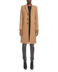 Saint Laurent Three Quarter Cashmere Coat