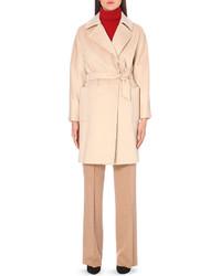 Max Mara Tie Waist Camel Hair Coat