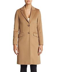 Virgin Wool Boyfriend Coat