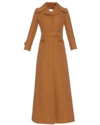 Maison Margiela Virgin Wool Twill Long Coat