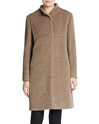 Cinzia Rocca Wool Alpaca Coat
