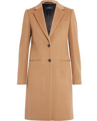 Joseph Wool And Cashmere Blend Coat Camel