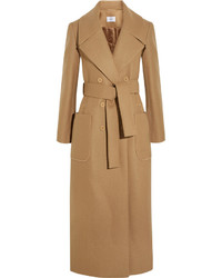 Carven Wool Blend Trench Coat