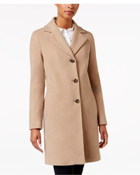 Calvin Klein Wool Cashmere Blend Walker Coat
