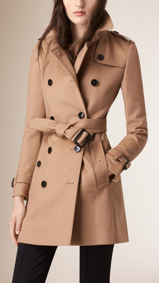 Burberry Wool Cashmere Trench Coat | Where to buy & how to wear