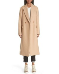 Stella McCartney Wool Double Breasted Coat