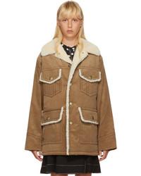 Camel Corduroy Coat