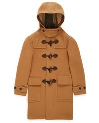 Burberry Brit Brockhurst Hooded Wool Blend Duffle Coat