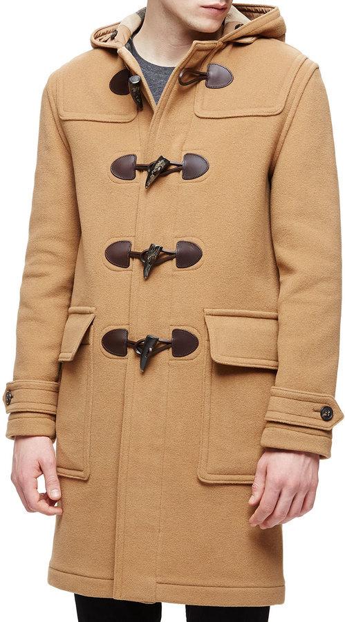 acd13e1eb Men's Fashion › Coats › Duffle Coats › Neiman Marcus › Burberry › Camel  Duffle Coats Burberry Brit Hooded Duffle Long Coat Camel ...