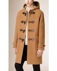 Burberry Brit Oversized Wool Blend Duffle Coat