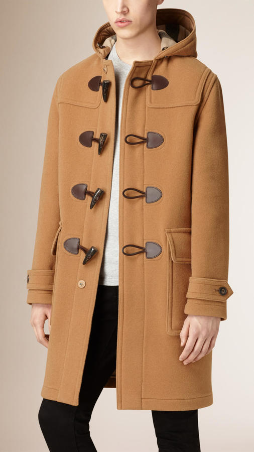 Burberry Brit Oversized Wool Blend Duffle Coat | Where to buy ...