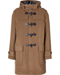 Burberry Brit Wool Blend Broadhurst Duffle Coat In Camel