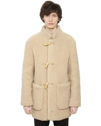 Christophe Lemaire Wool Blend Shearling Effect Coat