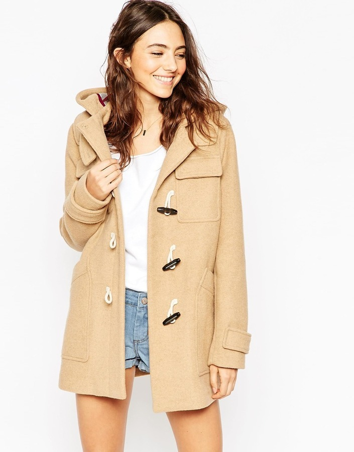 Asos Collection Classic Duffle Coat | Where to buy & how to wear