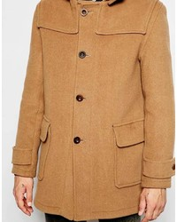 Gloverall Duffle Coat With Contrast Buttons | Where to buy & how ...