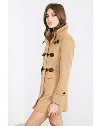Forever 21 Funnel Neck Toggle Coat