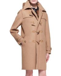 Ralph Lauren Black Label Garrett Camel Felt Toggle Coat