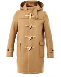 Saint Laurent Hooded Duffle Coat