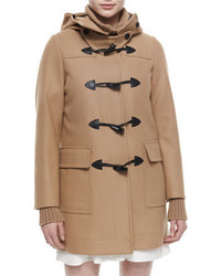 Belstaff Hooded Toggle Front Duffel Coat