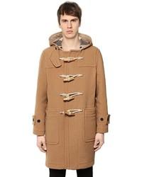 Hooded wool cloth duffle coat medium 3776686