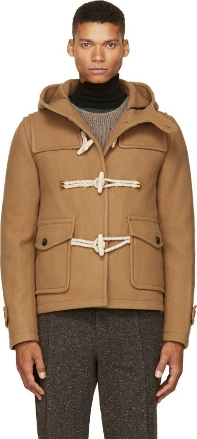 Kolor Camel Tan Wool Cashmere Duffle Coat | Where to buy & how to wear