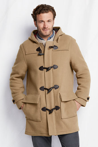 Lands' End Wool Duffle Coat | Where to buy & how to wear