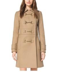 Michael Kors Michl Kors Wool Melton Duffle Coat
