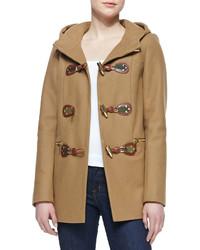 MICHAEL Michael Kors Michl Michl Kors Hooded Toggle Front Coat