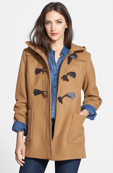 Pendleton Hooded Wool Blend Duffle Coat | Where to buy &amp how to wear