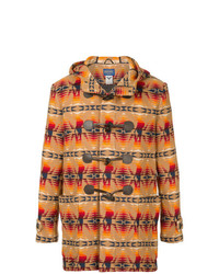 Hysteric Glamour Printed Duffle Coat