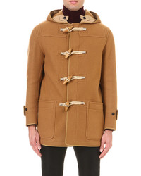 Burberry Prorsum Toggle Fastened Wool Duffle Coat