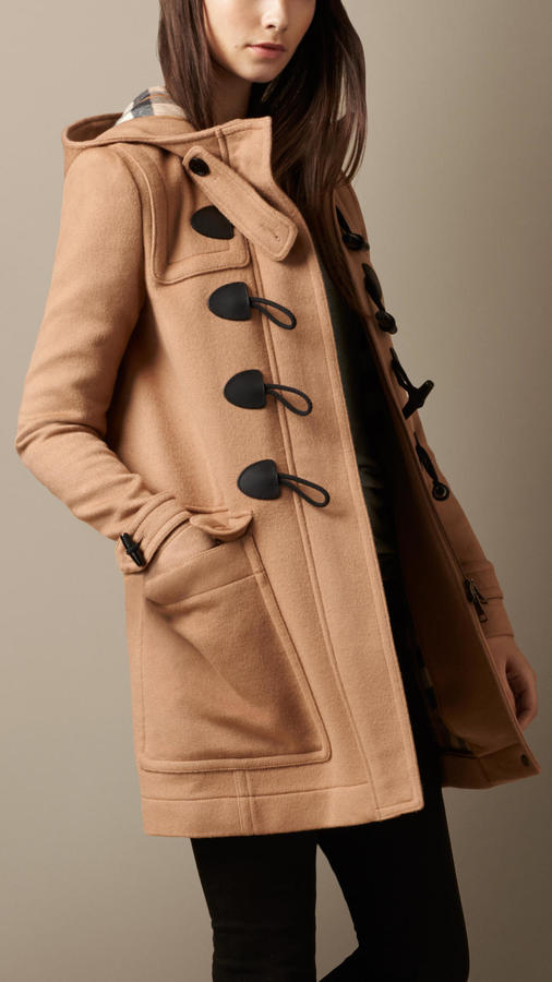 Burberry Straight Fit Duffle Coat | Where to buy & how to wear