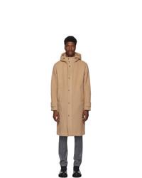 Herno Tan Long Duffel Coat