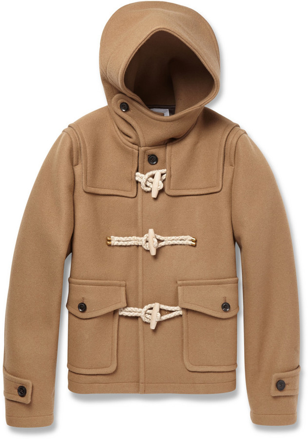 Kolor Wool And Cashmere Blend Duffle Coat | Where to buy & how to wear