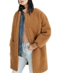 Camel Fleece Coat