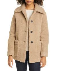 Harris Wharf London Faux Shearling Jacket