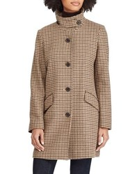 Lauren Ralph Lauren Houndstooth Check Coat