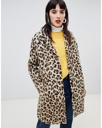 Custom Made Custommade Oversized Leopard Coat