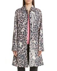 Calvin Klein 205W39nyc Panther Print Taffeta Coat