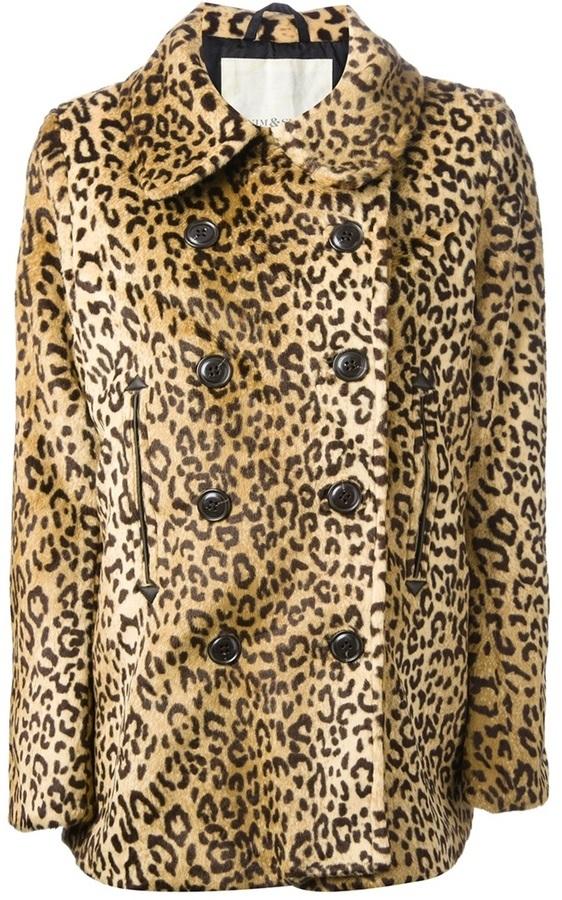 Denim & Supply Ralph Lauren Ralph Lauren Denim Supply Leopard Print Coat