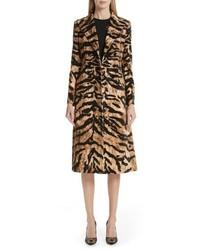 Dolce & Gabbana Tiger Velvet Coat