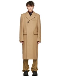 Wooyoungmi Beige Hidden Placket Coat