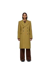 Dries Van Noten Beige Wool Coat