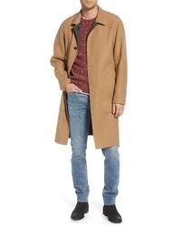 rag & bone Brent Reversible Wool Blend Coat