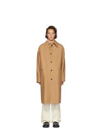 Kassl Editions Brown Below The Knee Coat